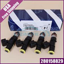 For Honda Acura 4pcs 2200cc High Impedance Bosch Fuel Injector 210lb 0280158829