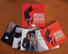 💿-MICHAEL JACKSON-COMPLETE 1ST 5 CLASSIC STUDIO MINI CD LP BOX SET! POP-ROCK.