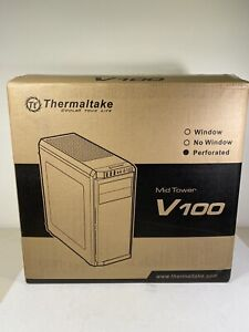 Thermaltake V100 ATX Mid-Tower PC Case NIB New In Box And Never Used