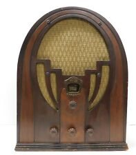 New Listing1934/35 Antique Philco Model 60B Version 3 Code 121 Tabletop Cathedral Radio