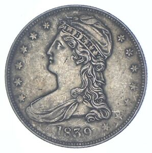 1839 Capped Bust Half Dollar - Walker Coin Collection *701