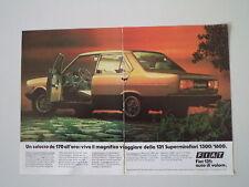 advertising Pubblicità 1982 FIAT 131 SUPERMIRAFIORI