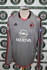 maglia calcio shirt maillot camiseta trikot MILAN SHEVCHENKO TG XL 2003/04