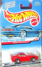 2000 Hot Wheels First Editions #2-36 Red Ferrari 550 Maranello ML 5s Diecast 4 +
