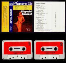 SERIE CONDUCTOR - ESPECIAL RUMBAS - SPAIN CASSETTE OLYMPO 1976 - Sexy Cover