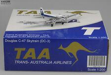 TAA  DC3 Reg:VH-SBA  Scale 1:200 Diecast Model    GJ mould       XX2526