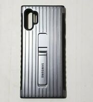 Samsung Case For the Samsung Galaxy Note 10 Plus Ultra with Kickstand - silver