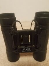 Hunters Edge 10 x 25 Binoculars Coated Optics With Carrying Strap