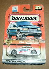 1/64 Opel Calibra DTM - Vintage 1998 World Cup Diecast Car - Matchbox 33865 NOS
