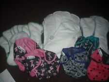 New Listing Best Bottom Cloth Diaper Covers Wraps & Inserts Lot/Bundle 36 in Great Lot