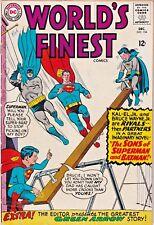 WORLD'S FINEST#154 VG 1965 DC SILVER AGE COMICS