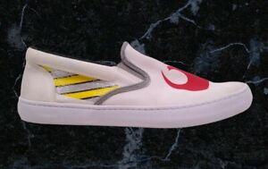Star Wars Sperry Men Sz 13 Cutter Rebel Slip-On Sneaker Boat Shoes White Canvas