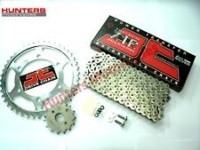Suzuki DRZ400 SM Super Moto, Silver X-Ring JT Chain & JT Sprockets Kit Set
