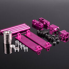 RC 1/10 On-Road Drift Car Shell Strong Magnet Stealth Body Post DIY PINK 188837