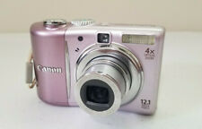 Canon PowerShot A1100 IS Digital Camera 12.1MP 4X Optical Zoom Pink