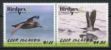 Cook Islands 2018 MNH Birds Birdpex 2v Set Shearwaters Bird Stamps