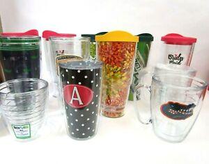 Tervis Travel Tumbler Mugs Cups Lids 16 24 oz. Different Varieties Size Colors