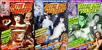 Bettie Page In Danger Photo Comic Book Set Lot Issue #1 2 3 PinUp Girl Stereo 3D