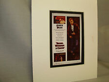 Rebel Without a Cause Movie Window Card from Pressbook to advise theaters