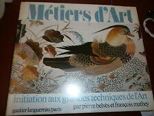 Métiers d'art Initiation aux grandes tecniques d'art Faïence Poterie céramique