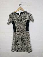 River Island Floral Brocade Dress Casual Size UK 8