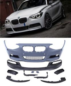 BMW 1 series F20 F21 M sport performance front bumper & splitter spoiler lip set
