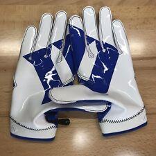 Nike Superbad 4 SB4 Duke Blue Devils Football Receiver Gloves 2XL XXL
