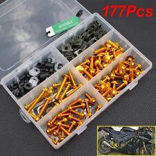 Gold Fairing Bolts Screws Kits for Honda CBR600RR CBR900RR CBR1000RR CBR1100XX