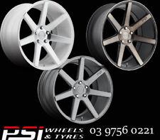 """22"""" NICHE VERONA 22X9 22X10 WHEELS 5X120 40P 38P HOLDEN HSV BMW X5 X6"""