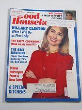 Good Housekeeping Magazine- January 1993- Hillary Clinton