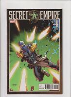 Secret Empire #4 FN/VF 7.0 Villain Variant Marvel 2017 Hydra Captain America