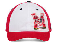 Maryland Terrapins Zephyr NCAA Women's Red White Plaid Adjustable Hat Cap