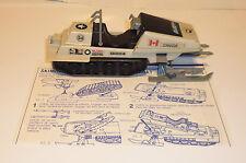 Vintage Gi Joe 1983 Skimobile polar battle bear 100% complete
