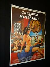 MESSALINE ET CALIGULA  ! affiche cinema