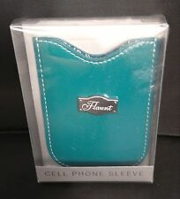 New Decorative Flaunt Fashion Teal Cell Phone Sleeve