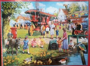 NEW SunsOut Jigsaw Puzzle 1000Pc SPRING ON THE GREEN #13604 20'x27'