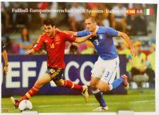 Fußball Europameisterschaft 2012 + Finale ESP vs. ITA + Fan Big Card Edit A102 +