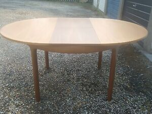 Nathan Vintage dining table and chairs.