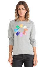Markus Lupfer Grey Cotton Gummy-bears Print Sweatshirt XS