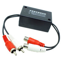 Car Audio Amplifier Ground Loop Isolator Audio Noise Filter Suppressor
