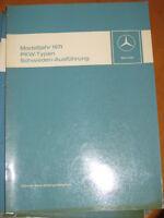 Mercedes  Neuerungen  PKW Typen Modelljahr 1971 - z.b. W 114 - W 108 - Schweden