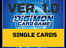 Digimon Card Game 2020 - Special Booster Ver 1.0 - Singles BT01-03 ENGLISH TCG