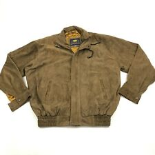 VINTAGE Mexx Suede Leather Jacket Size XL Extra Large Bomber Coat Adult Loose