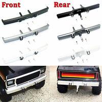 Metal Front Rear Bumper w/ Hook For 1/10 Traxxas TRX4 Ford Bronco RC Crawler Car