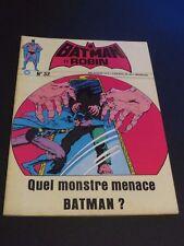 1974 BATMAN ET ROBIN # 32 BELGIUM FRENCH EDITION VFNM COPY RARE