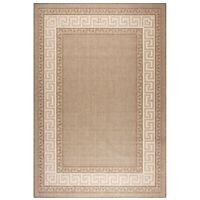 Flatweave Kitchen Rugs & Hall Runners Greek Key Mats brown floor carpet mat