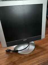"Sony SDM-HX93/S 19"" Large Square Flat Panel VIVID LCD Computer Monitor"
