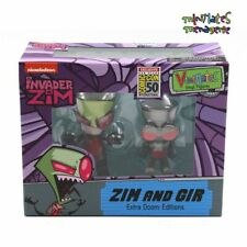 Vinimates Invader Zim SDCC Zim and Gir Extra Doom Editions 2-Pack Vinyl Figure