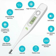 Digital Body Thermometer, Oral Underarm Rectal