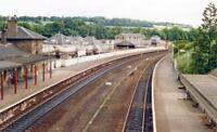 PHOTO  FIFE  CUPAR RAILWAY STATION 1988